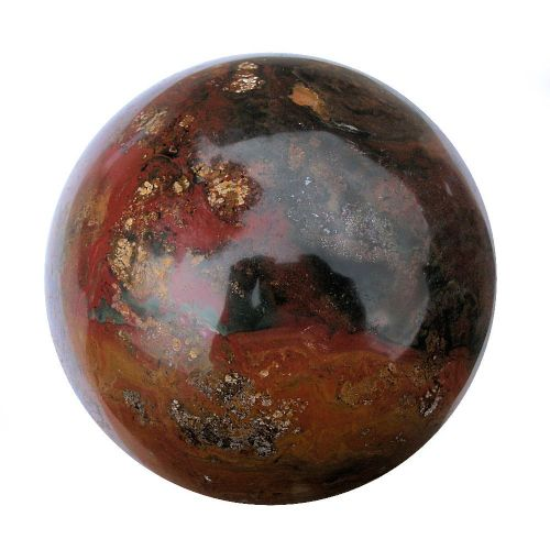 Bloodstone Heliotrope Crystal Fortune Telling Ball 120mm 2.5kg (BS11)